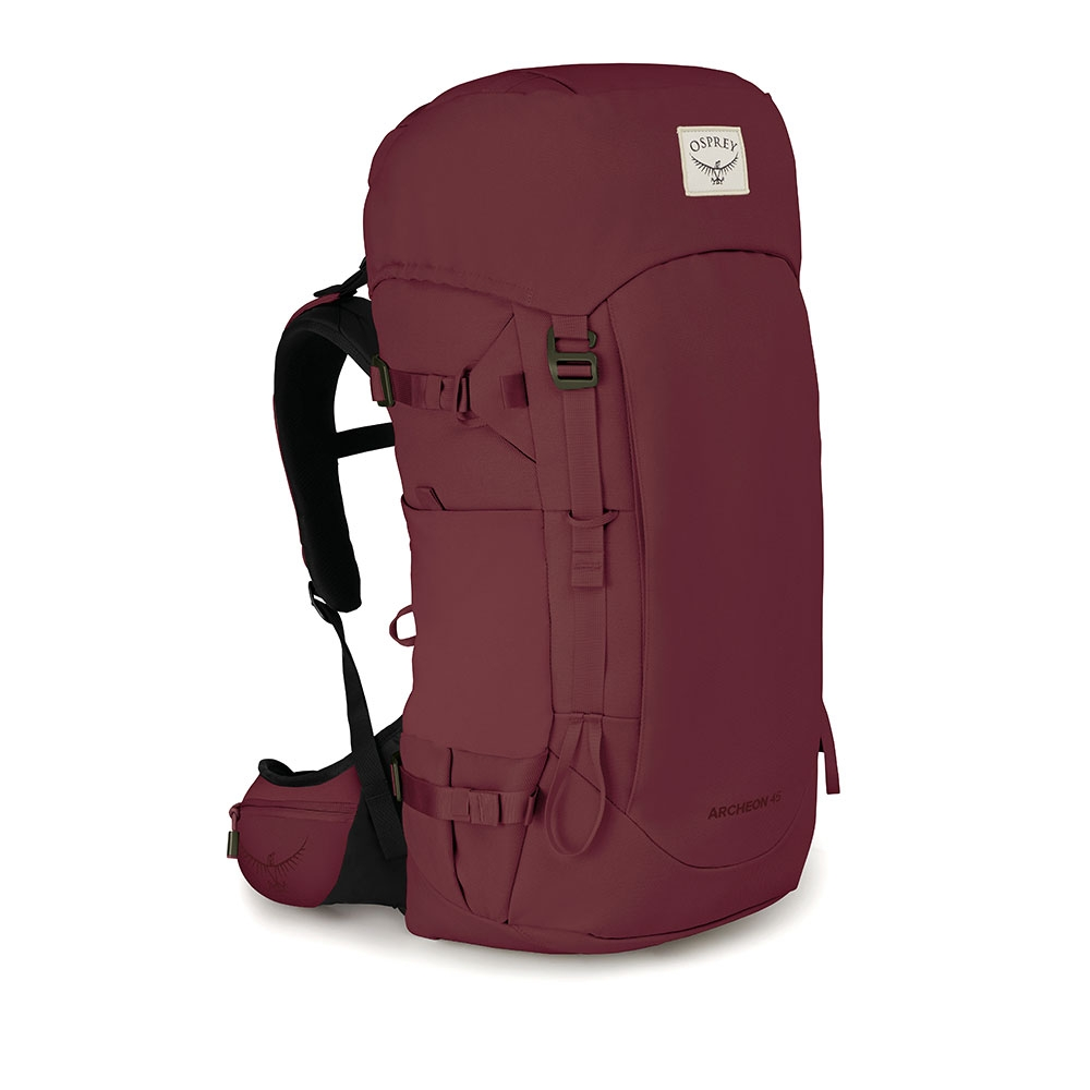 Osprey Archeon 45 Womens Backpack - Mud Red Wxs/s