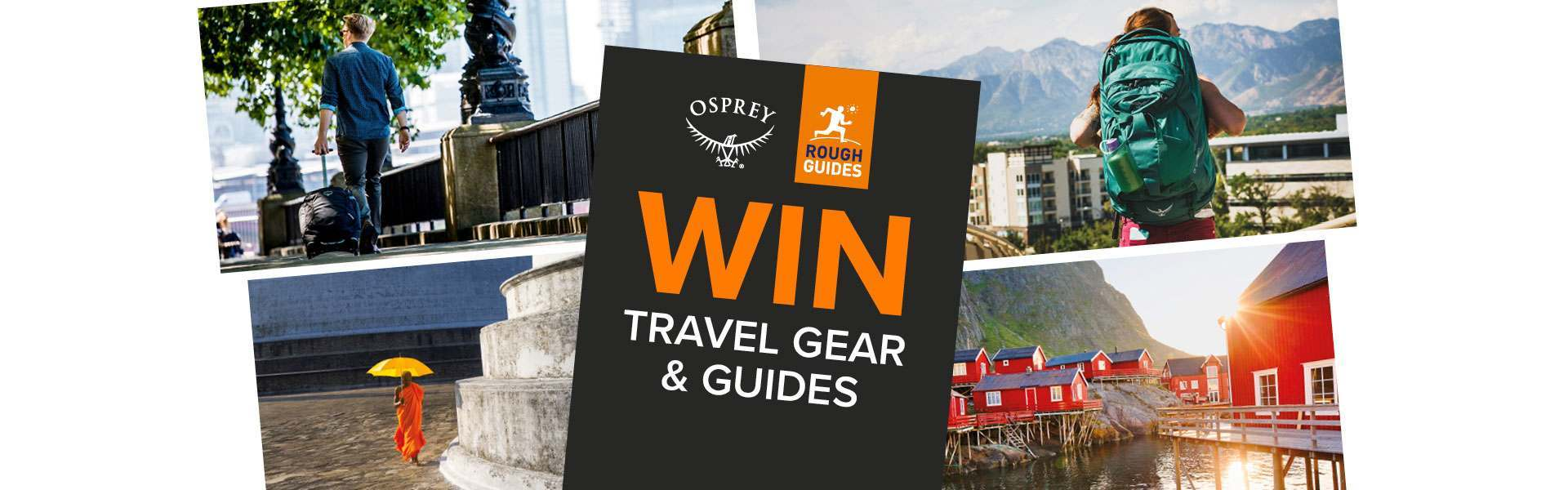 Win Travel Gear & Guides