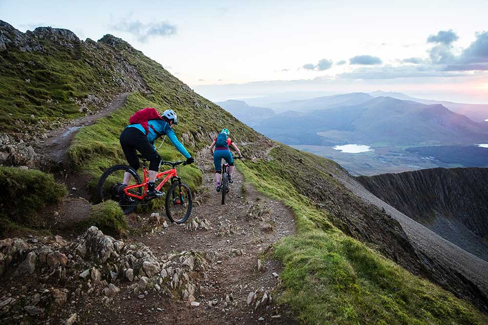 Mountain biking with the Raptor & Raven in Snowdonia