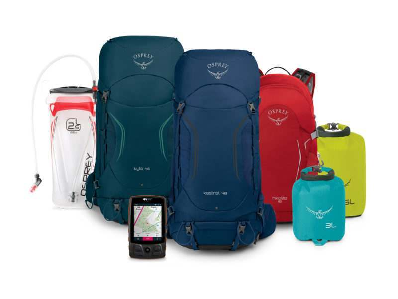 OS Maps & Osprey Backpacking bundle